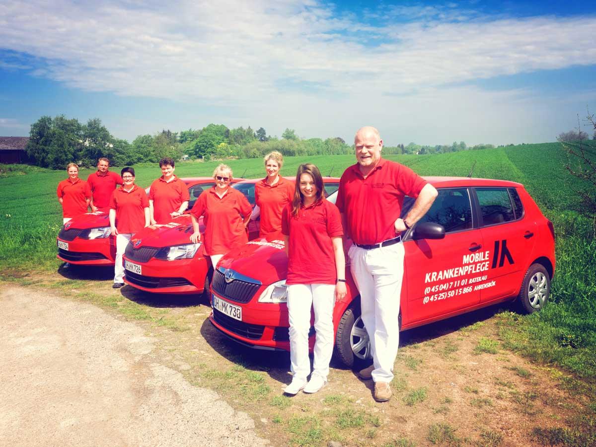 Team Mobiole Krankenpflge in Ahrensbök