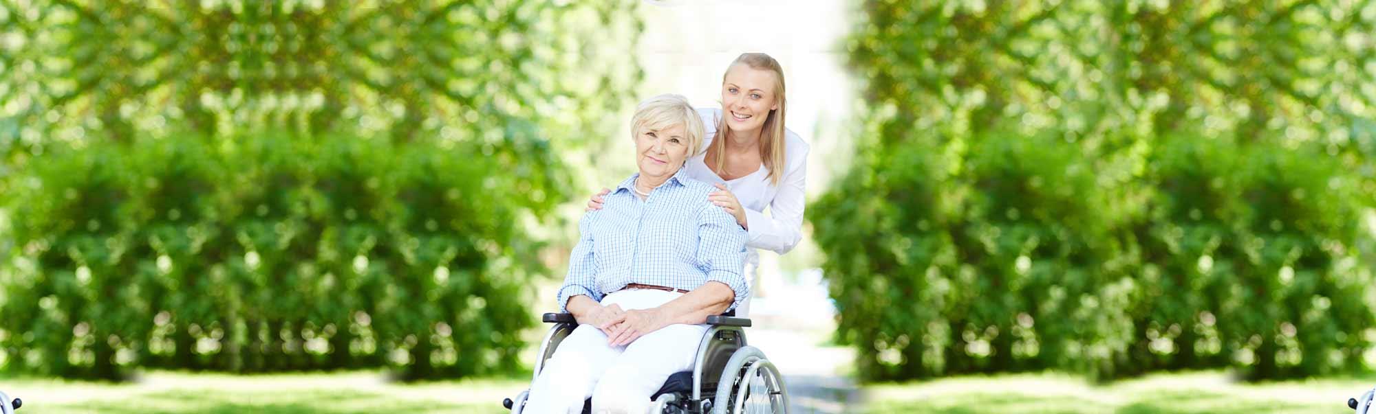 Kranken- und Altenpflege bei Ihnen zu Hause.