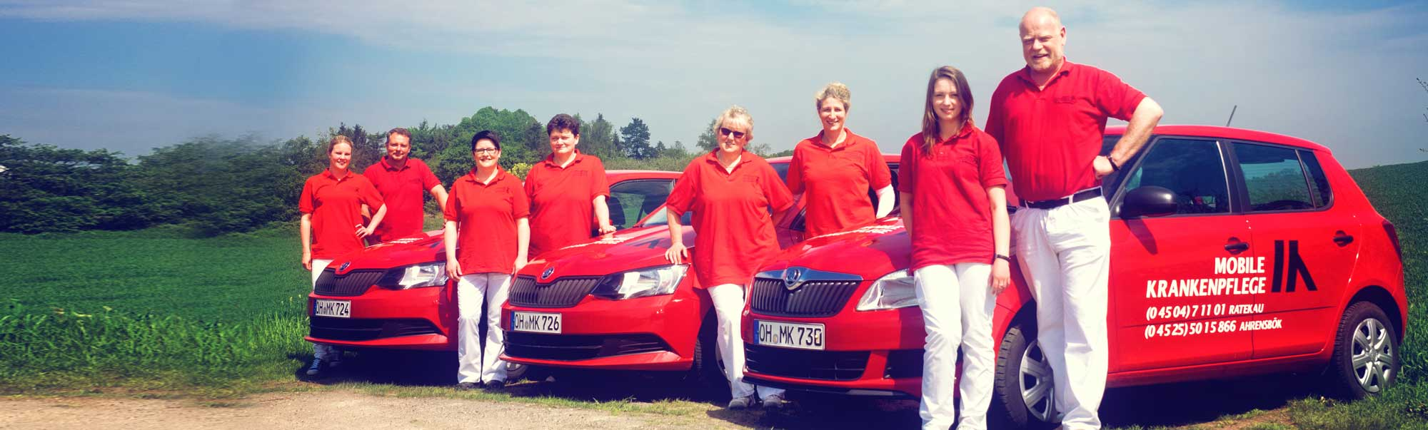 Unser Team  aus  Ahrensbök